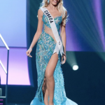 Miss Canada had the prettiest dress of the night! What do you think?