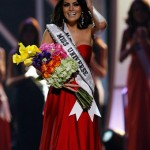 Miss Mexico After Being Crowned