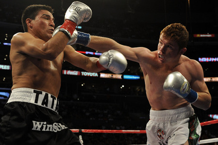 Boxing Double Header: CANELO ALVAREZ VS. KERMIT CINTRON AND  ADRIEN BRONER VS. VICENTE RODRIGUEZ