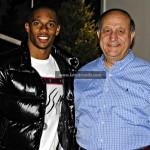 Victor Cruz & Copacabana owner Anthony Giuliano