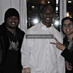 Victor Cruz with LatinTRENDS Editor Bernadette Giacomazzo & Senior Writer Ray Monell