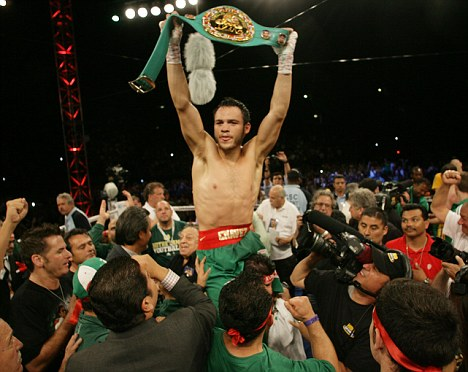 The New World Boxing Council's Middleweight Champ Julio César Chávez, Jr.