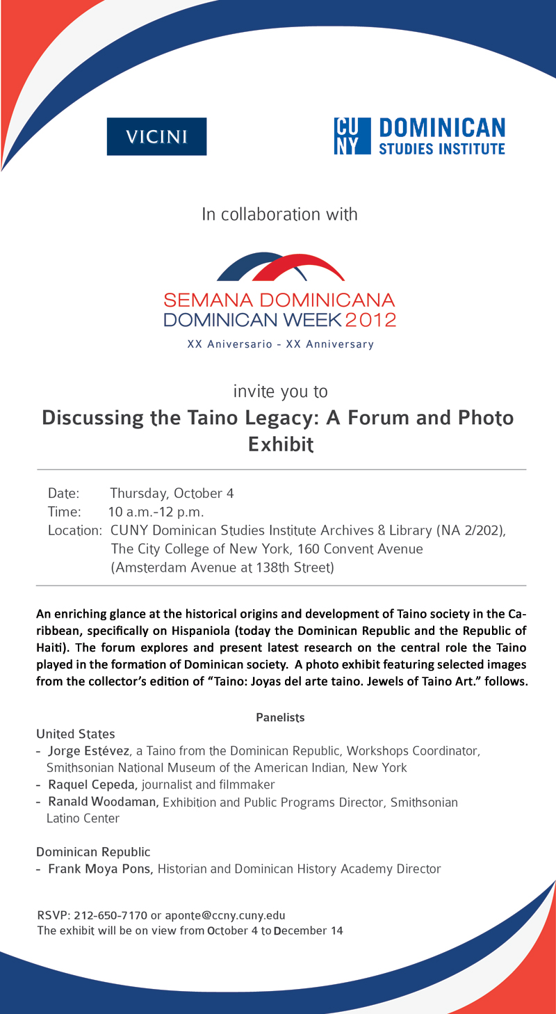 Discussing the Taino Legacy