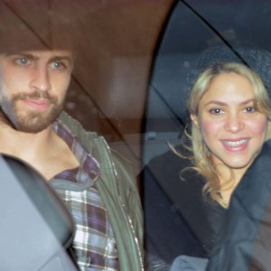 @Shakira and Gerard Pique Leave Hospital Without Baby Milan.