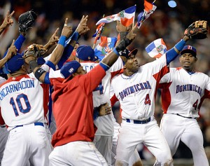 TOP OF THE WORLD: The Dominican Republic became the first Latin American country to win the World Baseball Classic Tuesday night.