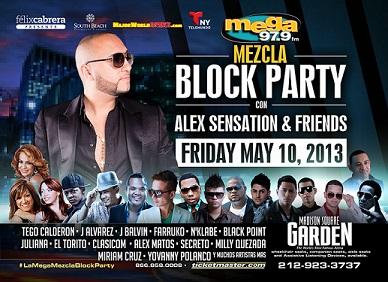 Alex Sensation Block Party