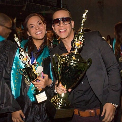 Daddy Yankee's Daughter Graduates High School ...: http://www.latintrends.com/daddy-yankees-daughter-graduates-high-school/