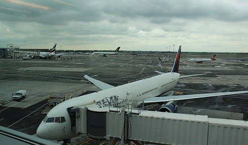 The View from the Delta Sky Deck of JFK airport.