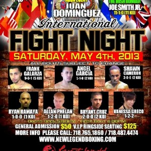 Pro Boxing at @ResortsWorldNYC Casino, in Queens, this Saturday Night!
