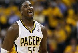 New York native Roy Hibbert and his Indiana Pacers dealt the death blow to the Knicks' season Saturday night.