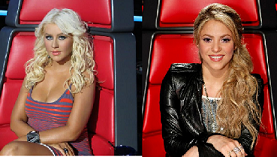 Christina Aguilera (@xtina) Taking Her Seat Back on The Voice
