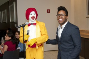 Special performer K Rosé & Ronald McDonald's