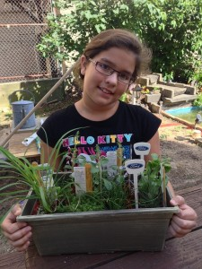 Youth and  herb garden