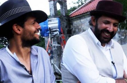 """Draco Rosa y Juan Luis Guerra Film Video """"Esto Es Vida"""" in DR"""