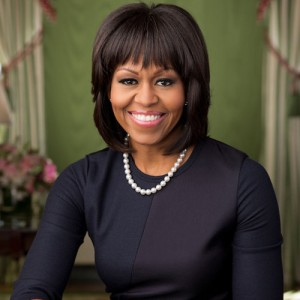 Michelle-Obama-Wears-Reed-Krakoff-Dress-Portrait