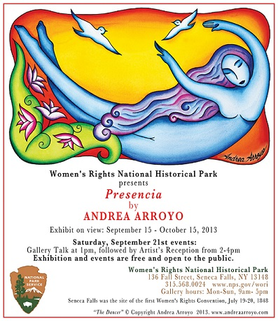 "Andrea Arroyo Exhibits ""Presencia"" A Series of Works That Celebrate Women's Courage"