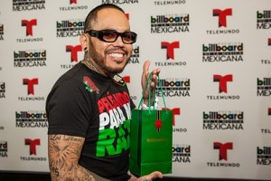 A.B. Quintanilla celebrated A Lo Grande with Buchanan's at the Billboard Mexican Music Awards 2013 rehearsals.