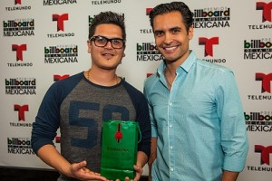 Regulo Caro and Augusto Valverde Celebrated A Lo Grande with Buchanan's Before The Billboard Mexican Music Awards 2013.