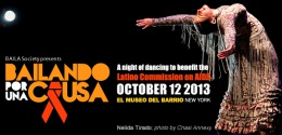 """Bailando Por Una Causa""(Dancing for a Cause): A Night of Dancing to support the Latino Commission on AIDS Organization"