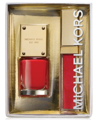 Michael Kors Sexy Collection Lip Lacquer & Nail Gift Set