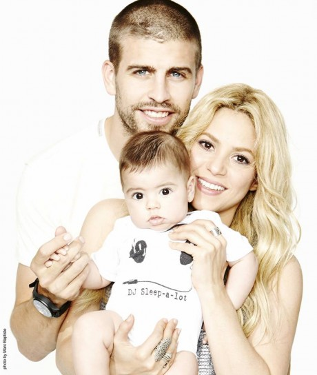 "Famous Latino Gerard Pique on his ""normal family"" with Shakira"