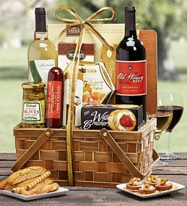 Vintner's Choice Wine Hamper Basket