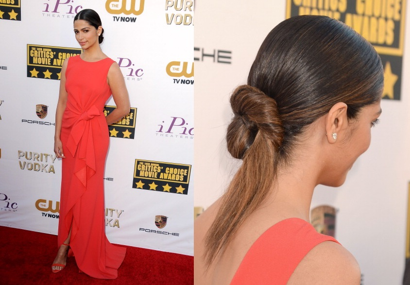 Get the Look: Red Carpet Hairstyles With Latino Star Camila Alves ...