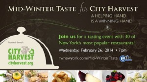 Mid-Winter Taste for City Harvest