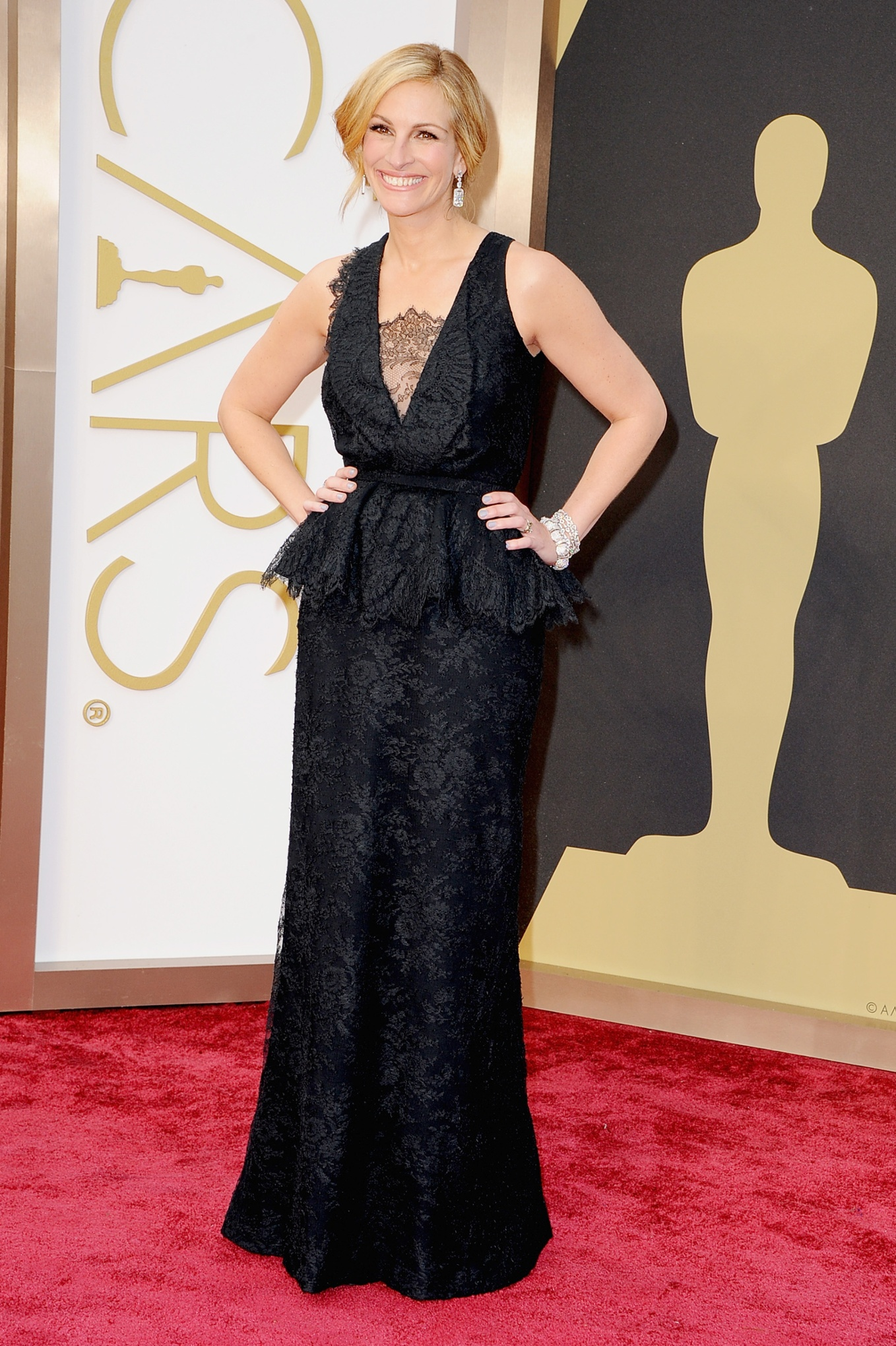 America's Sweetheart Julia Roberts at the 2014 Academy Awards