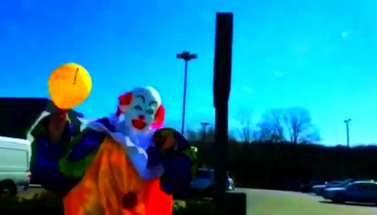 A Clown on Staten Island?