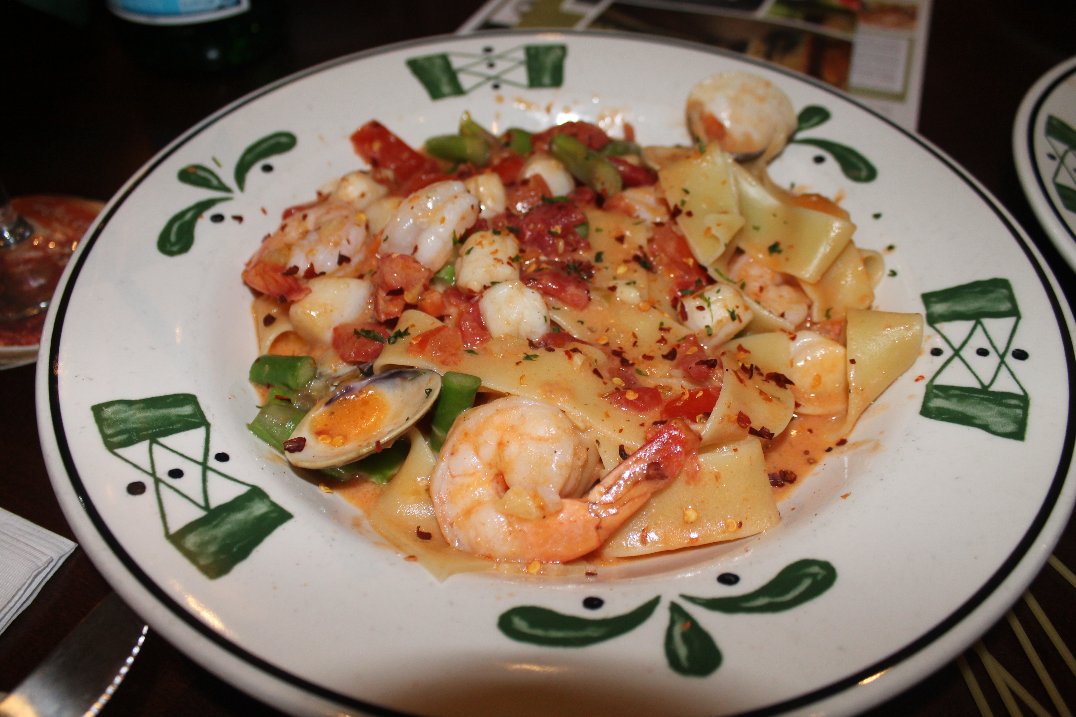 Olive Garden Introduces New Menu Direction