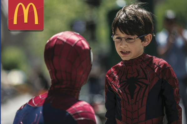 MCDONALD'S MEET AND GREET WITH ACTOR JORGE VEGA FROM THE AMAZING SPIDER-MAN 2