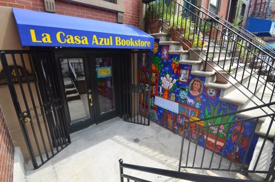 Latino Bookshop's first East Harlem reading and literacy campaign!