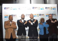 L to R: Council Member Andy King, Hip-Hop Artist Swizz Beatz (Honoree) , Bronx Borough President Ruben Diaz Jr., Deputy Bronx Borough President Aurelia Greene, Actor & Former Latino Trendsetter David Zayas