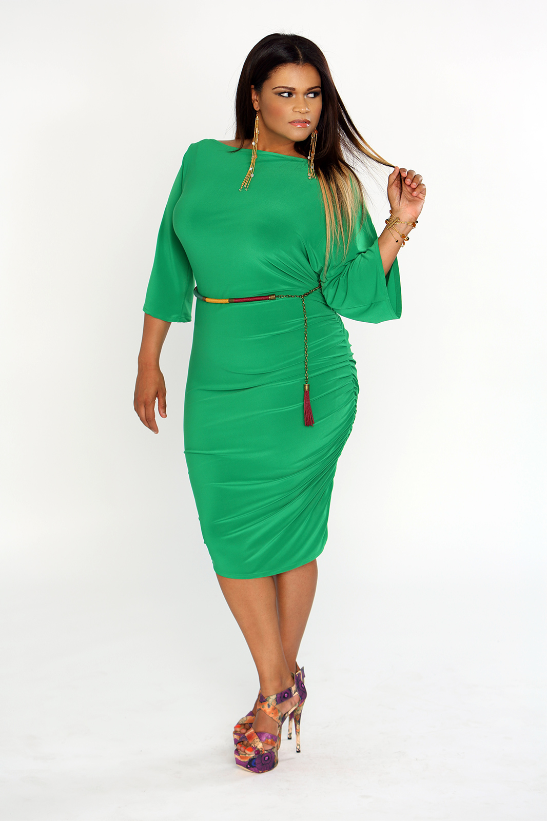 bc58e665d3c Head Turning Summer Dresses For The Curvy Ladies Under  50 ...