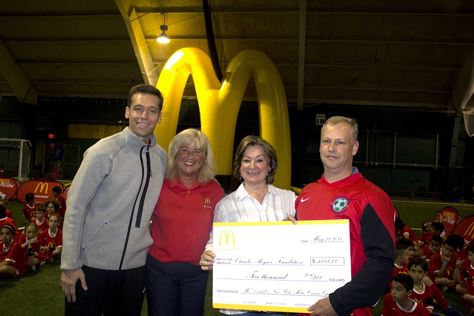 McDonald's New York Tri-State Area Promotes and Supports the Practice of Soccer among Children