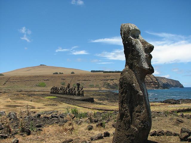 Easter Island (Image via Flickr)