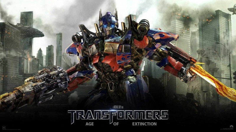 Optimus Prim Transformer 4: Age of Extinction