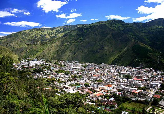 City of Baños in Ecuador (Image Via Touropia)