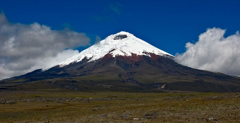 Cotopaxi in Ecuador (Image via Wikimedia)