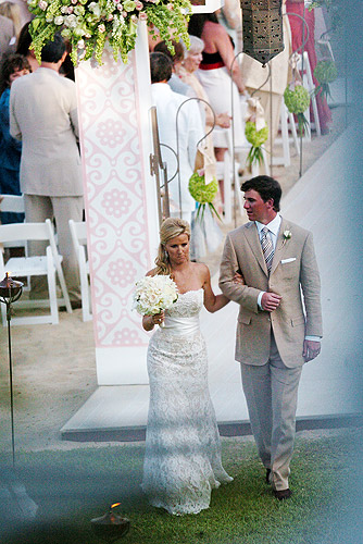 Eli Manning and Abby McGrew wed in Cabo San Lucas, Mexico (Image via NY Daily News)