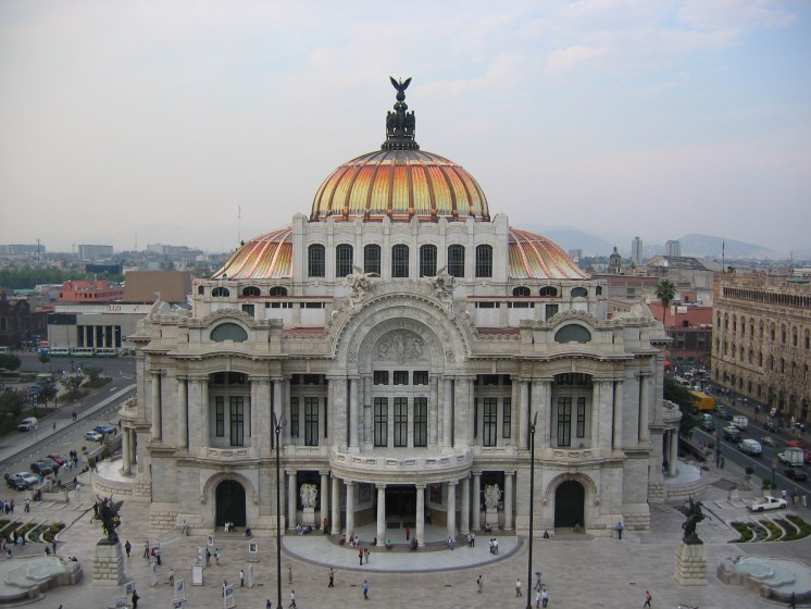 Palacio De Bellas Artes in Mexico City, Mexico (Image via Wikipedia)