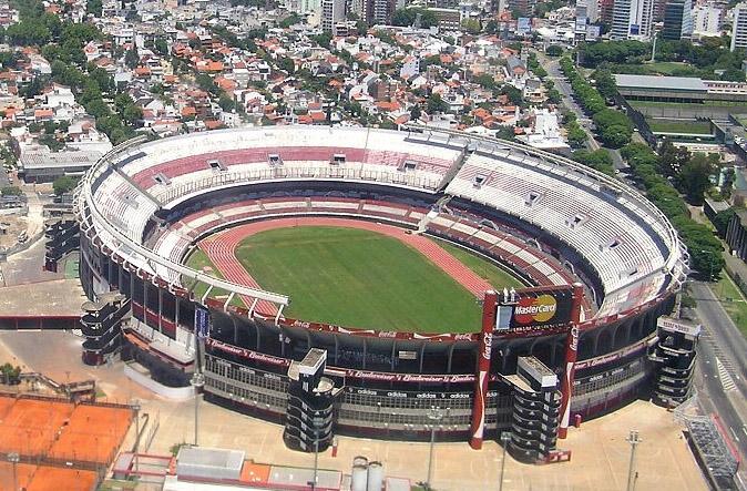 River Plate Stadium in Buenos Aires, Argentina (Image via Stadium Vibe)
