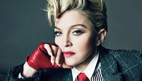 Madonna 'Causing A Commotion' At A New York Courthouse