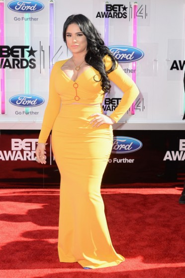 Emily+B+BET+AWARDS+14+Arrivals+guMrP8vn4K8l