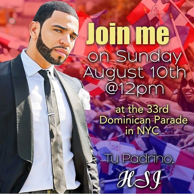 Henry Santos – Padrino of the 33rd Annual National Dominican Day Parade NYC