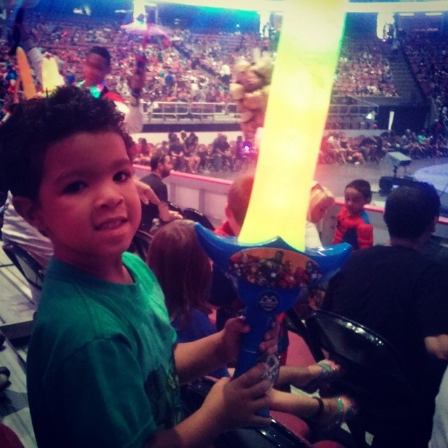 "Toddler Raves at 'Marvel Universe LIVE!' ""It Was Awesome!!!"""