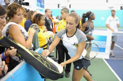 American Express And USTA US Open Fresh Courts Challenge With James Blake, Sloane Stephens, Jack Sock, And Monica Puig