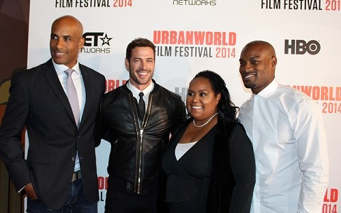 William Levy at the Urban World Film Festival for