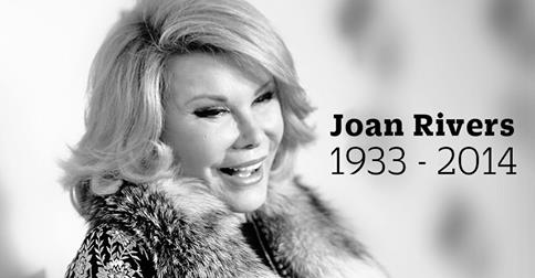 """""""When I die, I want my funeral to be a huge showbiz affair…"""" – Joan Rivers"""